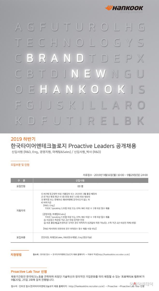 [사진자료] 2019 하반기 프로액티브 리더 공개채용