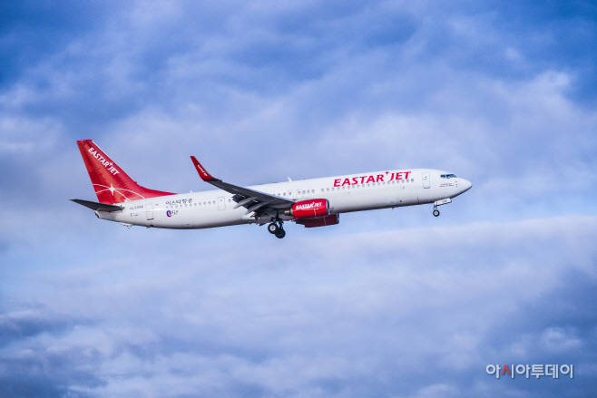 이스타항공 항공기 사진