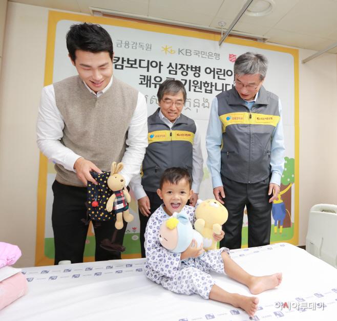 (보도사진3)캄보디아 심장병 어린이 의료지원