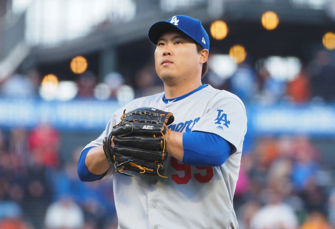 BASEBALL-MLB-SF-LAD/ <YONHAP NO-3132> (USA TODAY Sports)
