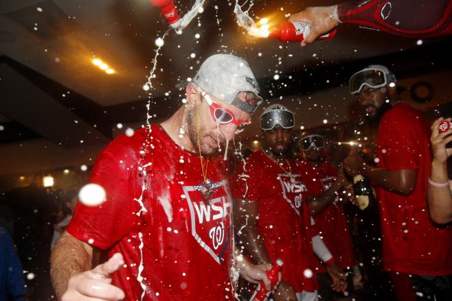 Brewers Nationals Baseball <YONHAP NO-3690> (AP)