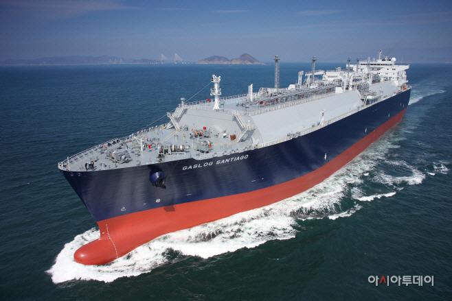 삼성중공업이 건조한 액화천연가스(LNG)선
