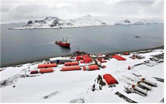 남극 세종과학기지 전경