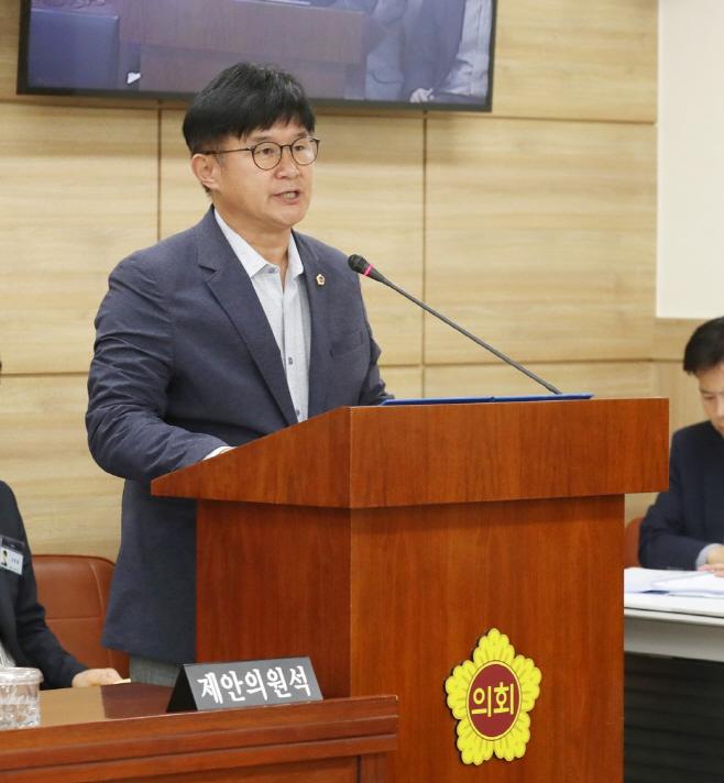 김경호 의원, 친일잔재청산 특별위원회 구성 결의안 의결