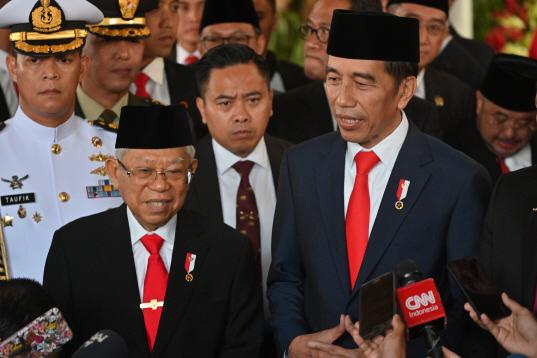 Indonesia Widodo Inauguration <YONHAP NO-4945> (AP)