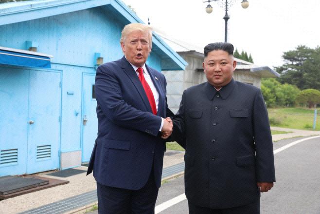 트럼프-김정은