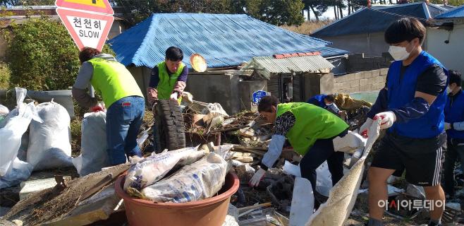 예산군 신암면지역사회보장협의체, 주거취약계층 환경정비봉사