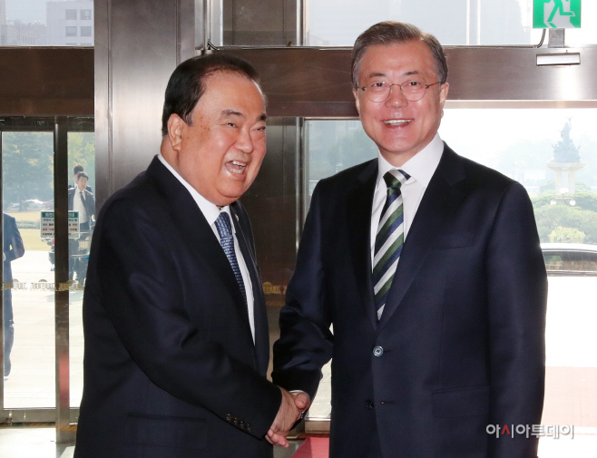 문재인 대통령, 예산안 시정연설