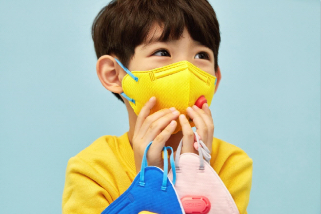 [이미지 1] 에티카 어린이용 KF80 에티카 키즈 마스크 출시