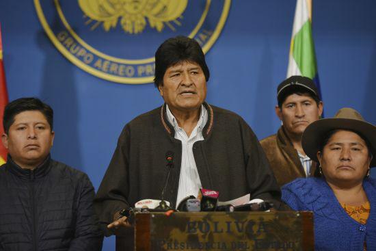 Bolivia Elections <YONHAP NO-1102> (AP)