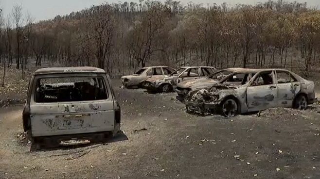 Australia Wildfires <YONHAP NO-3214> (AP)