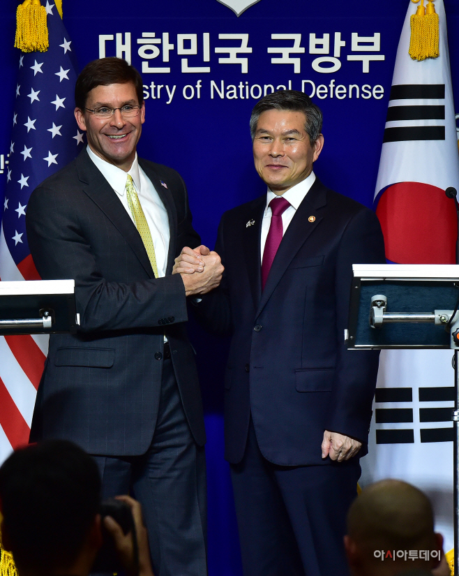 한미 국방부 장관 공동기자회견24