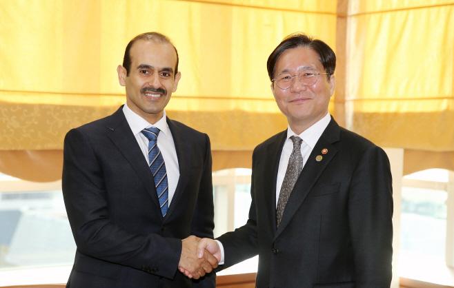 (19.11.18)카타르 에너지부 장관 면담01