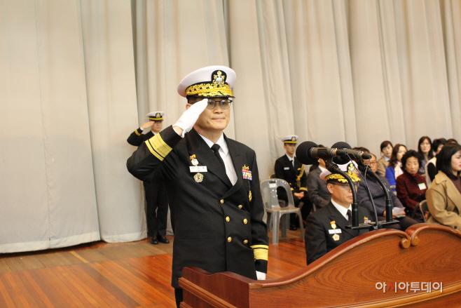평택 해군 제2함대사령관 이.취임식 가져