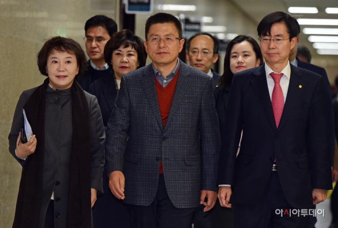 [포토] 황교안, 연석회의 참석