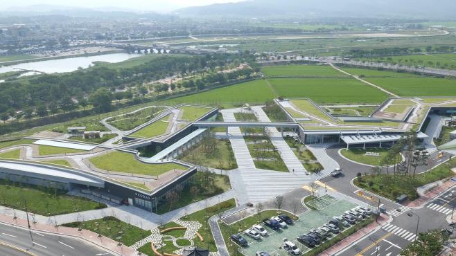 한국원자력환경공단 신사옥 전경
