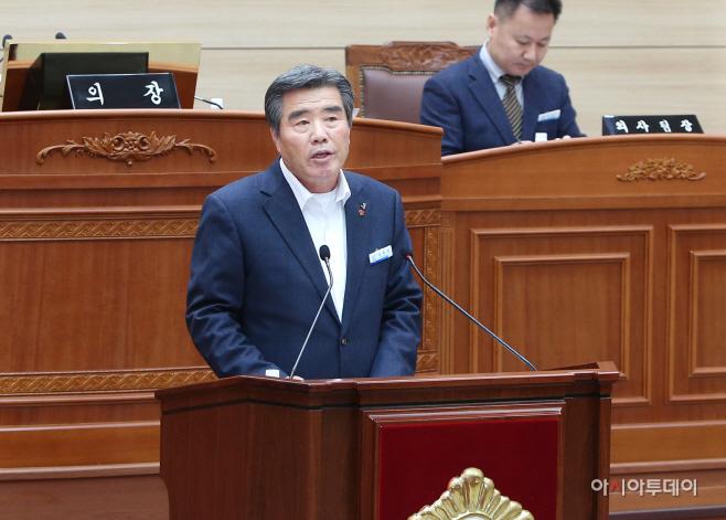 시정연설하는 김동일 보령시장3