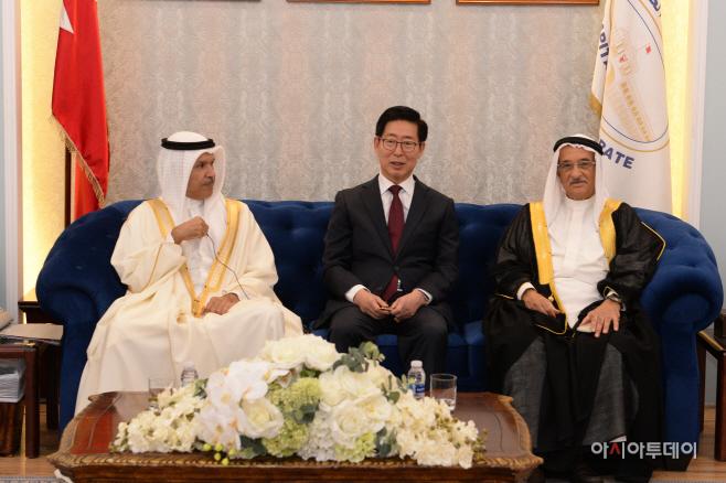 바레인과 대한민국 첫 지방외교 추진