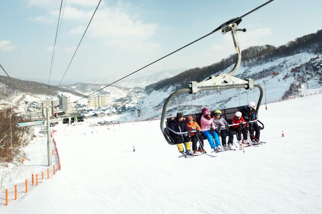 [메인] 3. 곤지암_스키장_리프트 전경