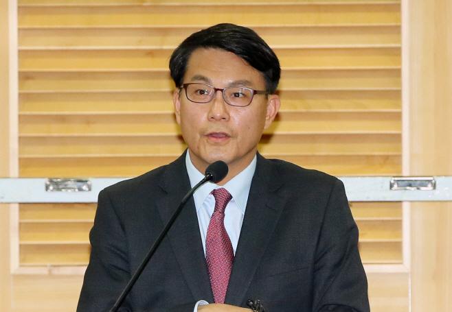 윤상현, 한국당 원내대표 출마<YONHAP NO-3948>