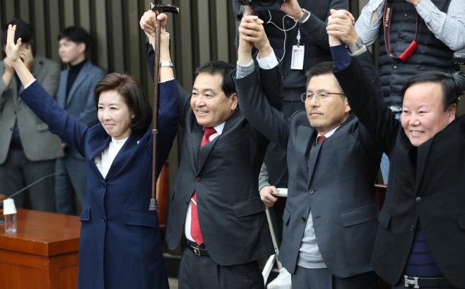 한국당 새 원내대표에 심재철 의원