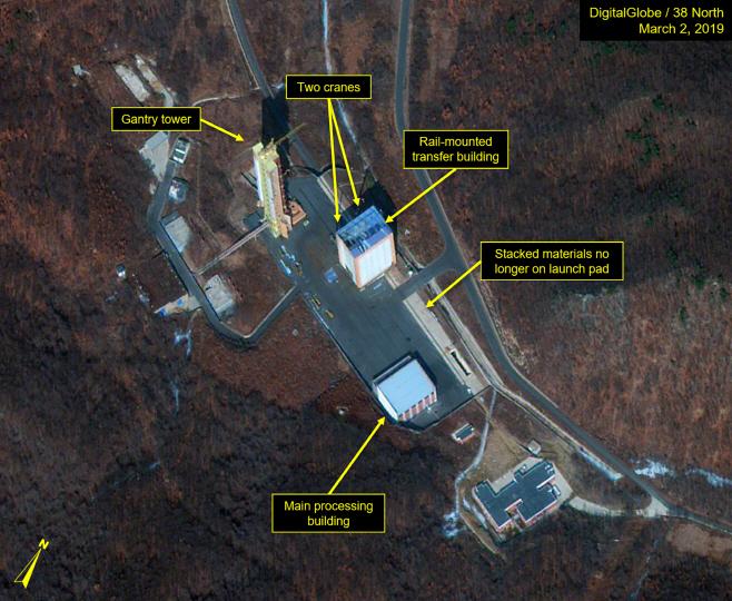 북한, 서해위성발사장서