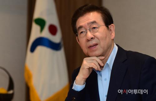 박원순 서울시장 인터뷰
