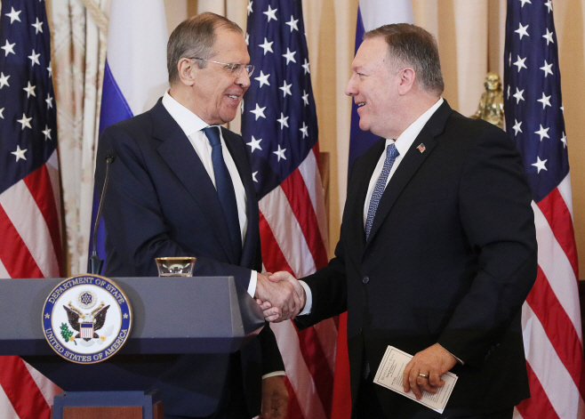 Russia Foreign Minister Lavrov visits United States