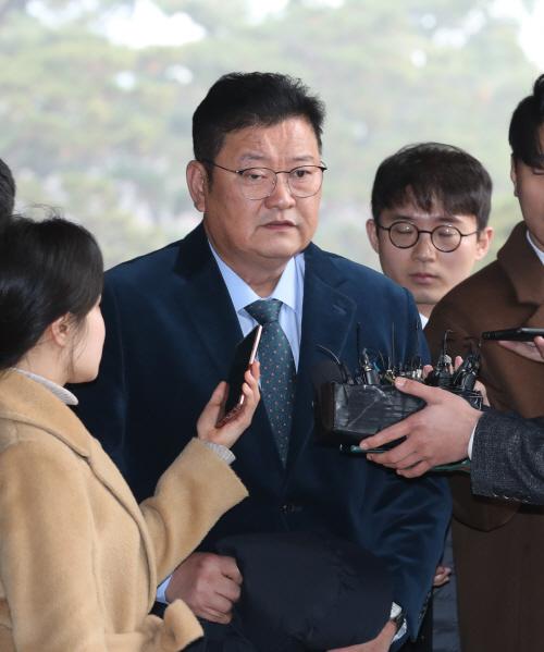 '김기현 첩보' 관련 검찰 소환된 임동호 전 최고위원