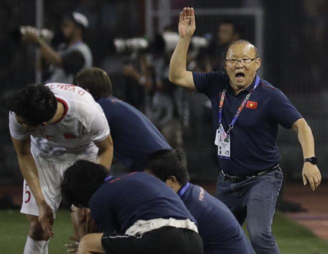 Philippines SEA Games Soccer <YONHAP NO-5591> (AP)
