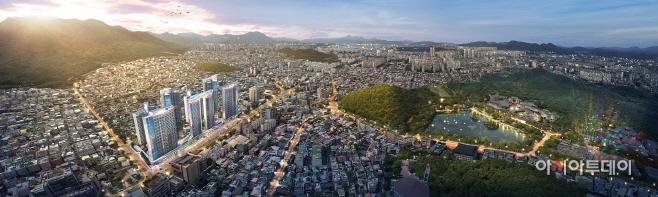 (사진) 대구 대명6동 44구역 재개발 사업 조감도
