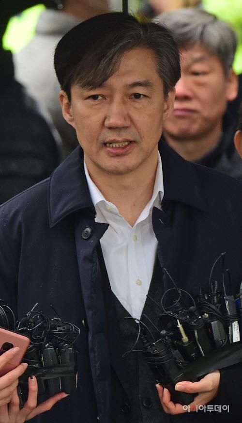 조국 전 법무부 장관, 영장실질심사