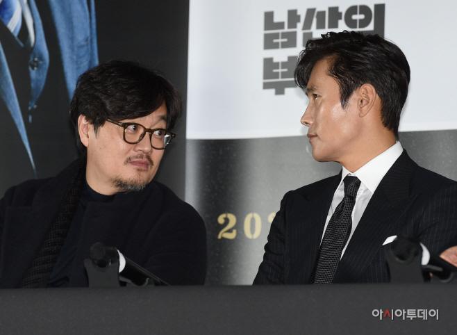 [포토]우민호-이병헌, '감독과 배우'