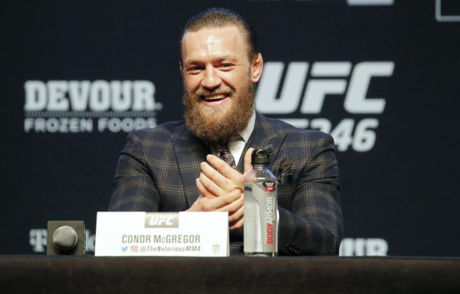 UFC 246 Mixed Martial Arts <YONHAP NO-3042> (AP)