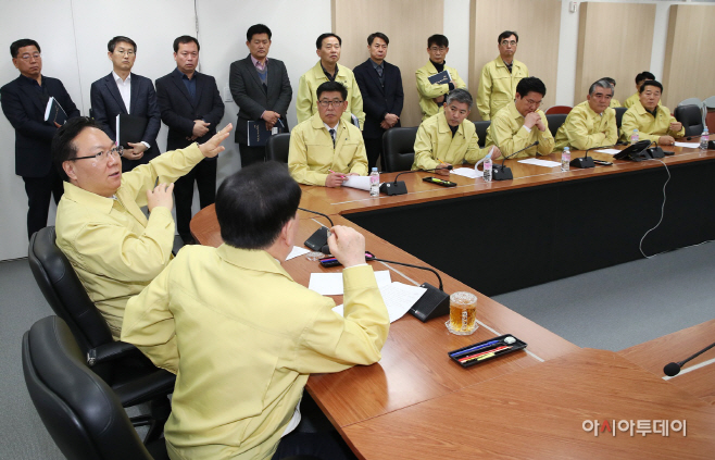 충남도의회, 네팔 교원 실종사고 상황본부 방문