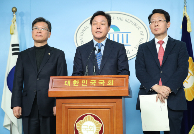 한국당-새보수당 통합논의 본격화<YONHAP NO-4621>