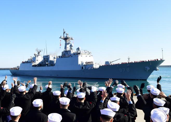 청해부대 31진 왕건함, 호르무즈해협으로 파견<YONHAP NO-2936>