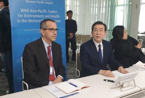 서울시, WHO와 신종코로나 대책회의