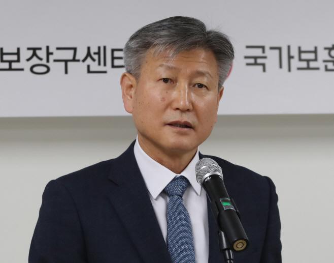 인사말 하는 박삼득 국가보훈처장<YONHAP NO-2902>