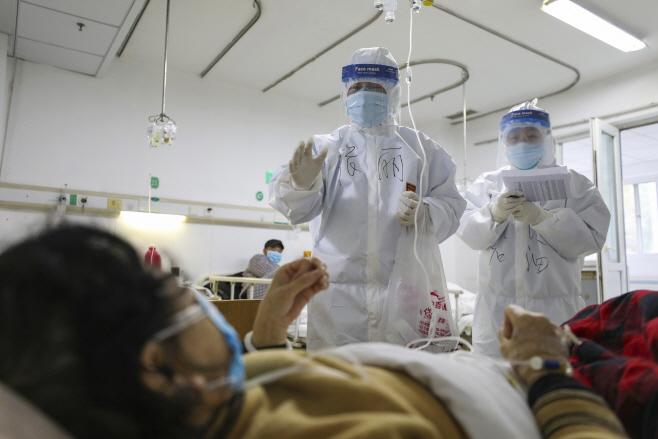 China Outbreak <YONHAP NO-6647> (AP)