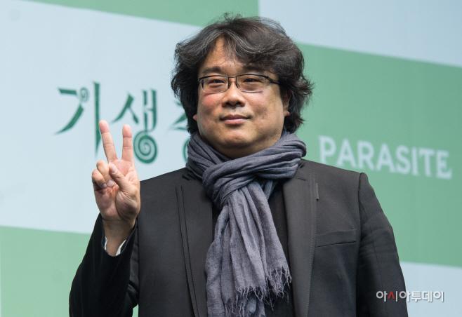[포토]기생충, 봉준호 감독 '금의환향'