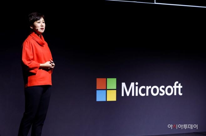 [사진 2] 이지은 한국마이크로소프트 신임 대표