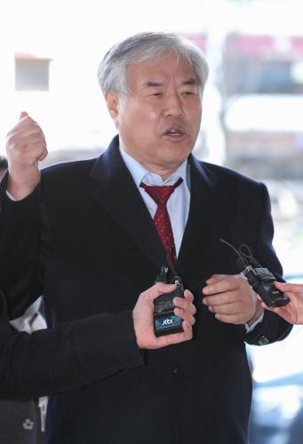 전광훈 목사 종로경찰서 출석<YONHAP NO-2291>