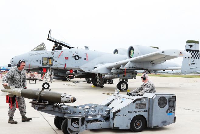 주한미군 A-10 공격기, 새 날개