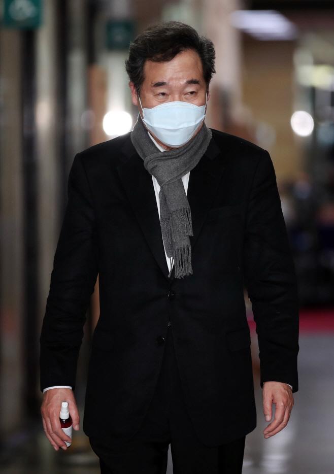 미래선대위회의 참석하는 이낙연<YONHAP NO-5877>