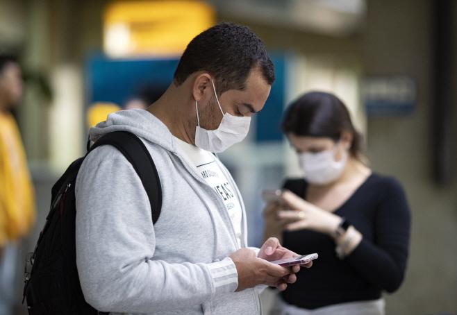 Brazil Virus Outbreak <YONHAP NO-7427> (AP)