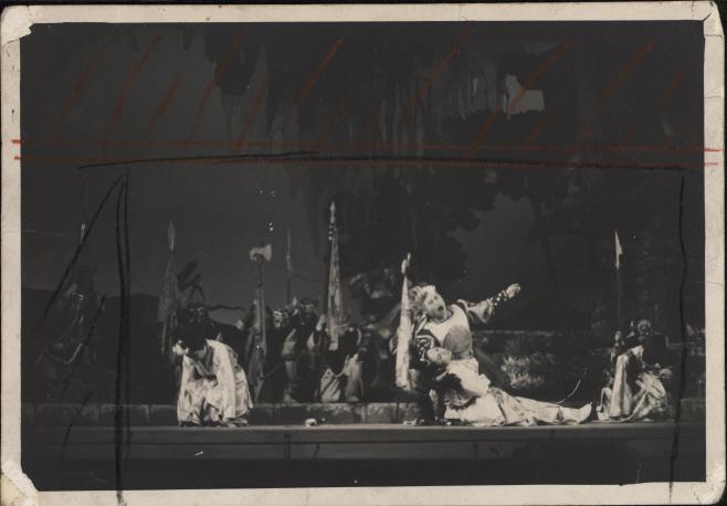 1962년 국립오페라단 창단공연 왕자호동