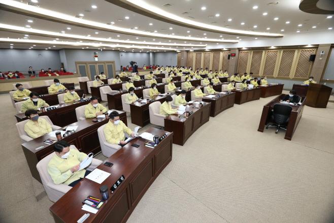 수원시의회, 제349회 임시회 개회