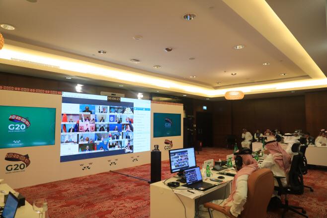 SAUDI ARABIA-RIYADH-G20-TRADE MINISTERS-COVID-19