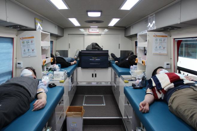 ① LG화학 오창공장 헌혈 사진